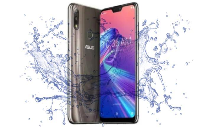 Is Asus Zenfone Max Pro M2 Waterproof device