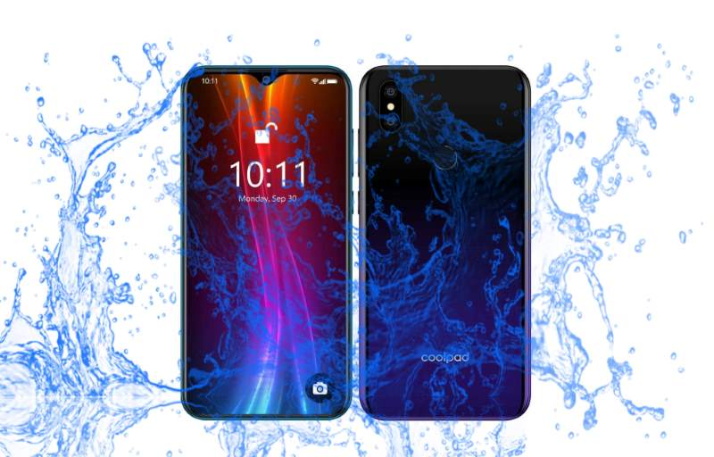 Is Coolpad Cool 5 waterproof device in 2019?