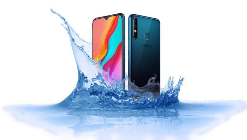 Is Infinix Hot 8 waterproof device?