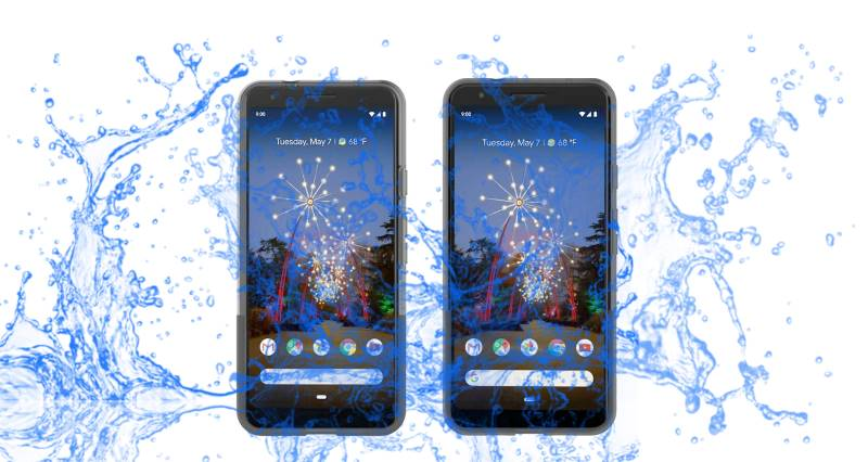 Is Pixel 3a and 3a XL waterproof device?