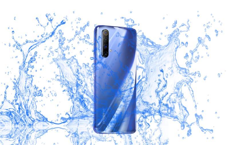 Is Realme X50 5G waterproof device?