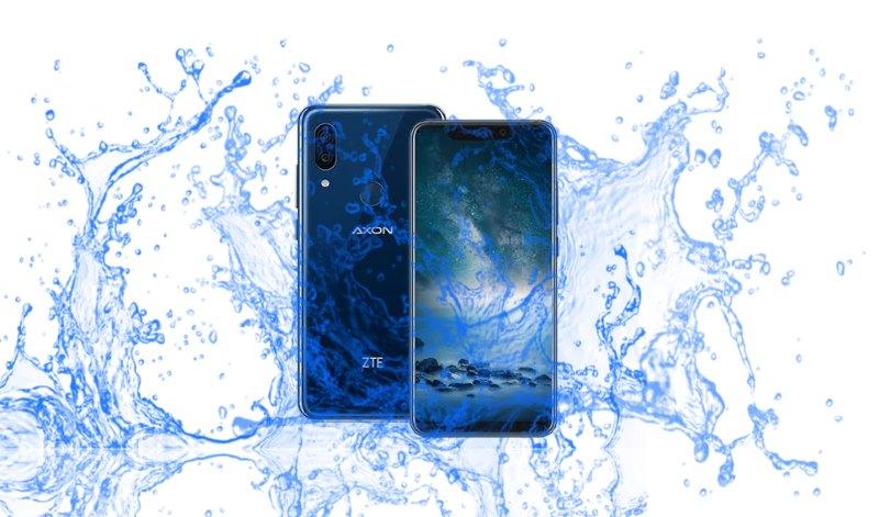 Is the ZTE Axon 9 Pro Waterproof Device