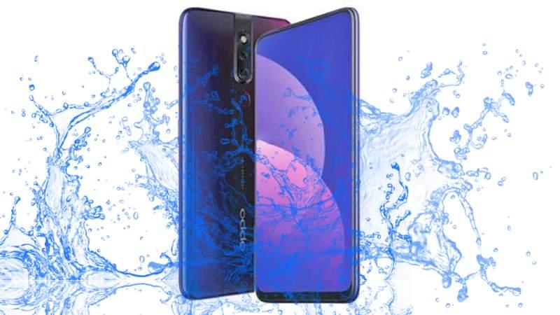 Is Oppo F11 Pro Waterproof Smartphone?