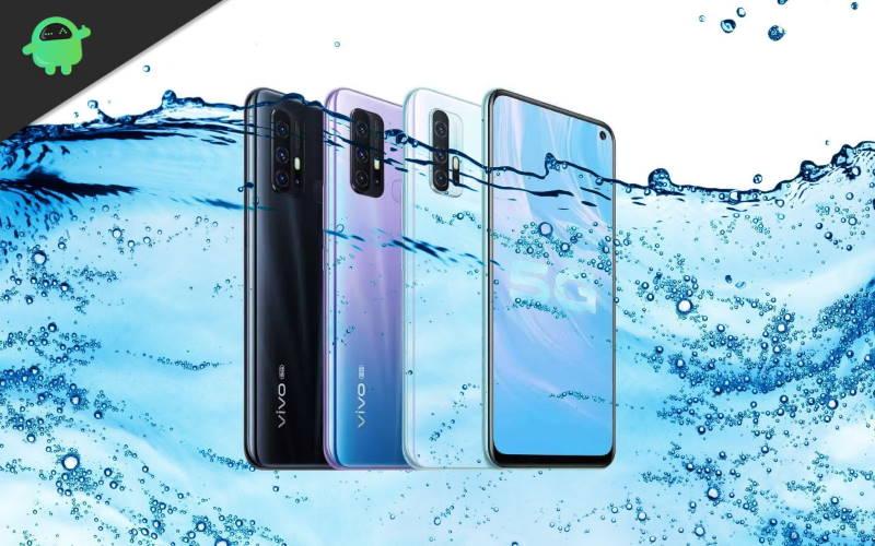 Is vivo Z6 5G Waterproof smartphone?