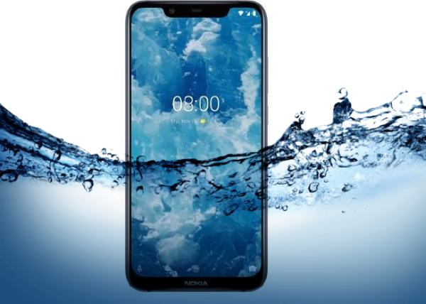 Did HMD Global launch the new Nokia 8.1 with Waterproof IP Rating?