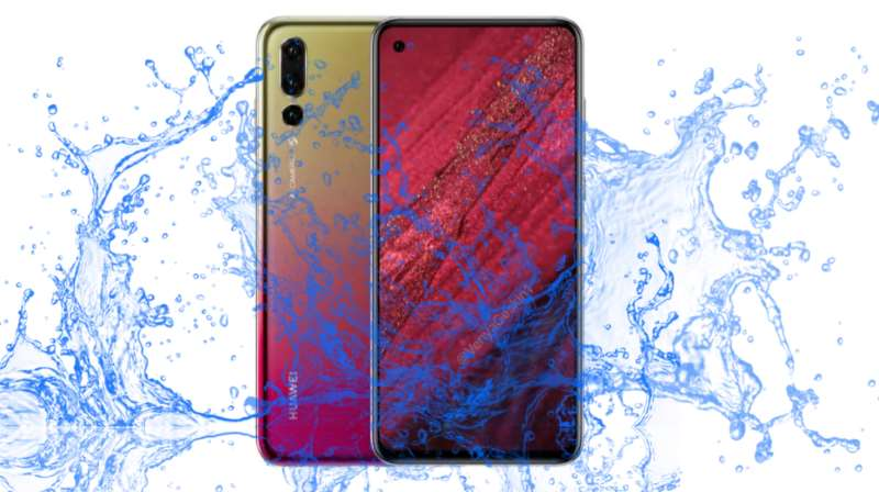 Did Huawei make a Nova 4 with Waterproof and Dustproof protection?