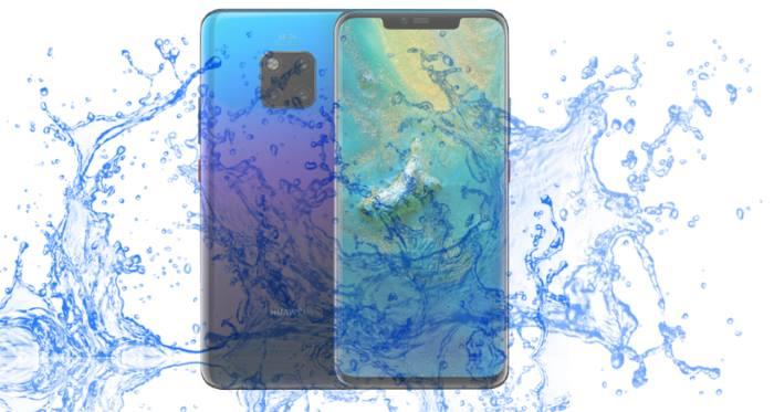 Does Huawei Mate 20 survive under water? - Waterproof test