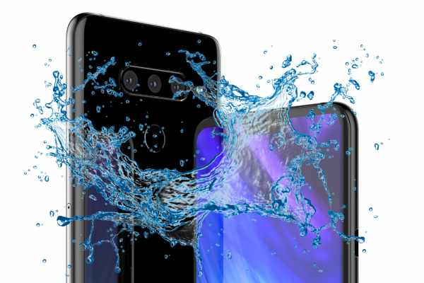 Is LG V40 ThinQ really a Waterproof device?
