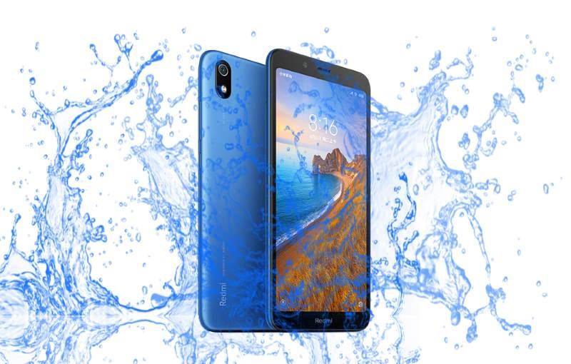 Xiaomi Redmi 7A Waterproof test