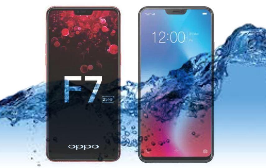 ¿Oppo F7 es un dispositivo resistente al agua?  Vamos a averiguar