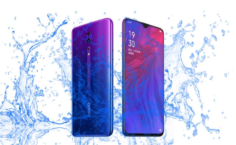 Did Oppo Reno Z comes with a waterproof body?