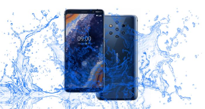 Can Nokia 9 Pureview Survive the waterproof test?