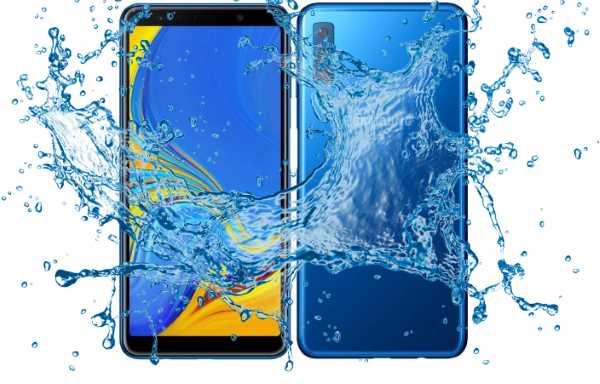 Can Samsung Galaxy A7 2018 survive under Water? - Waterproof test