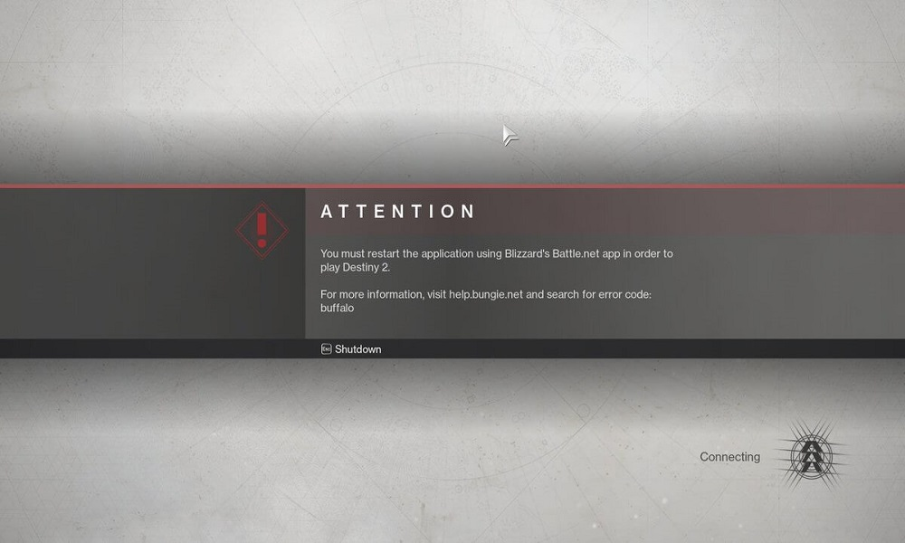 What is Destiny 2 Error Code Buffalo? - Is there any Fix?