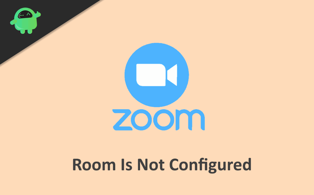 What to do if Zoom Room is not configured for this account