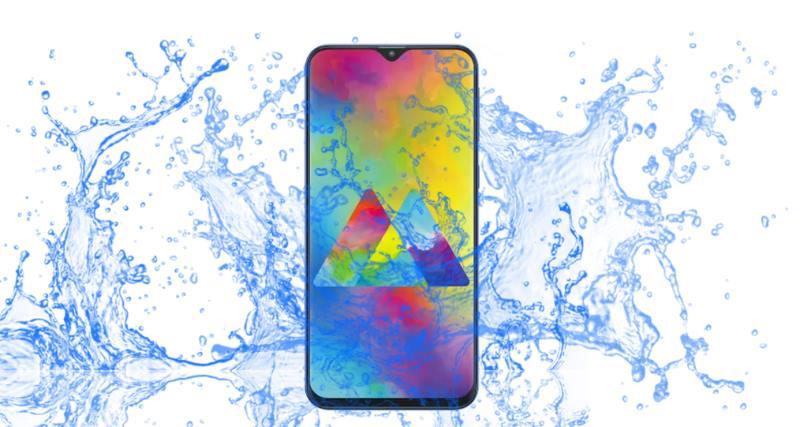 Did Samsung launch Galaxy M10 to survive under water? - Waterproof Test