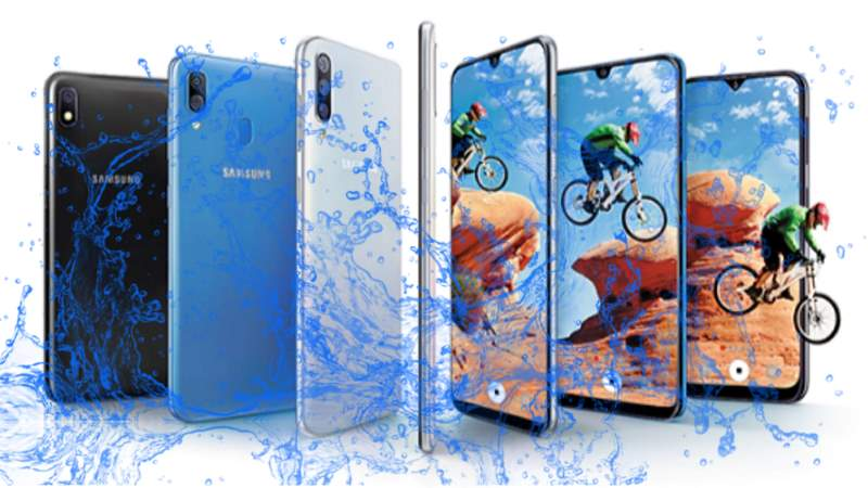 Is Samsung introduce Galaxy A30, A50, A20 and A10 with Waterproof and Dustproof Protection