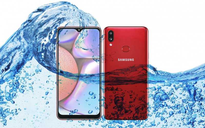 Did Samsung Introduce Galaxy A10s has Waterproof and Dustproof Ratings?