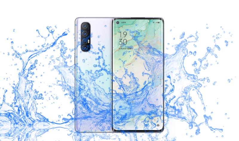 Is Oppo Reno 3 and 3 Pro Waterproof Devices?