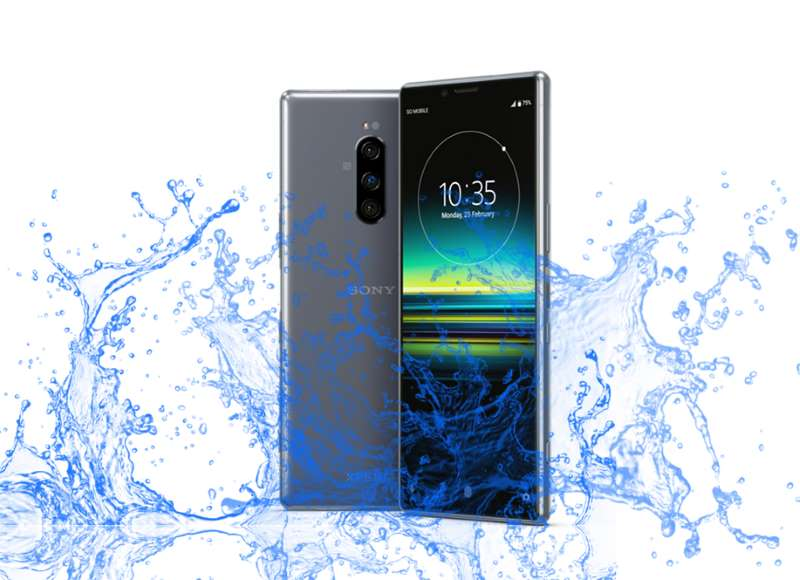 Is Sony Xperia 1 really a Waterproof device ?
