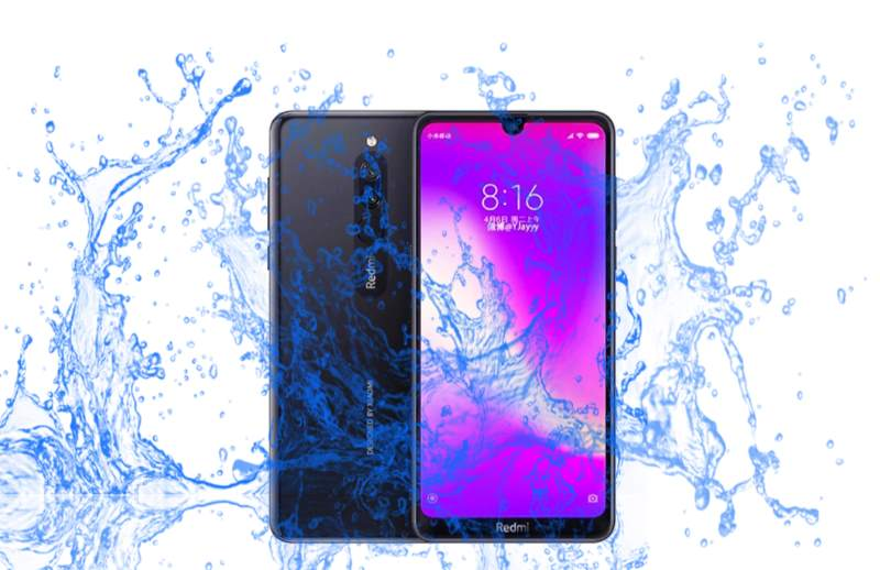 Did Xiaomi launch Redmi 8 with a Waterproof rating?