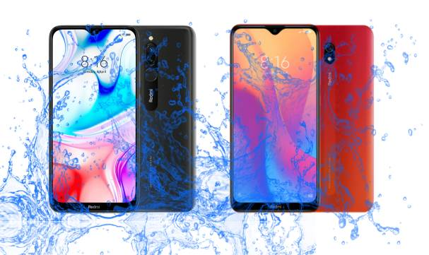 Did Xiaomi introduce Redmi 8 and 8A with Waterproof IP rating?