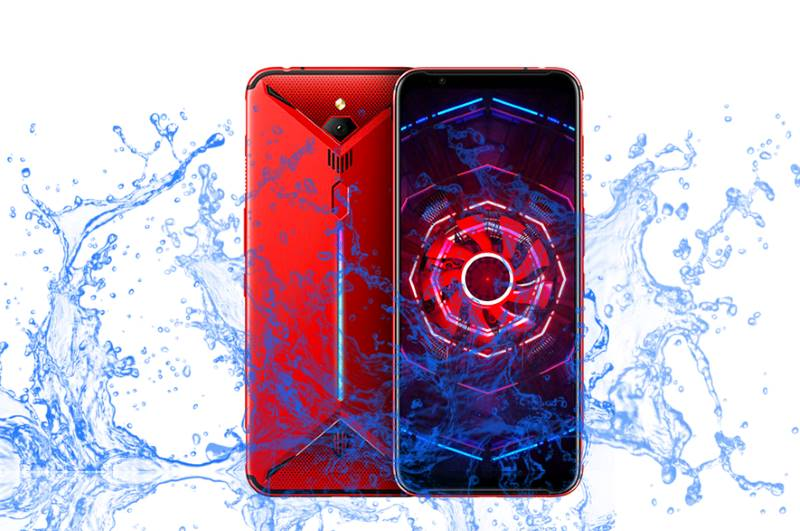 ZTE Nubia Red Magic 3 is a waterproof gaming device?