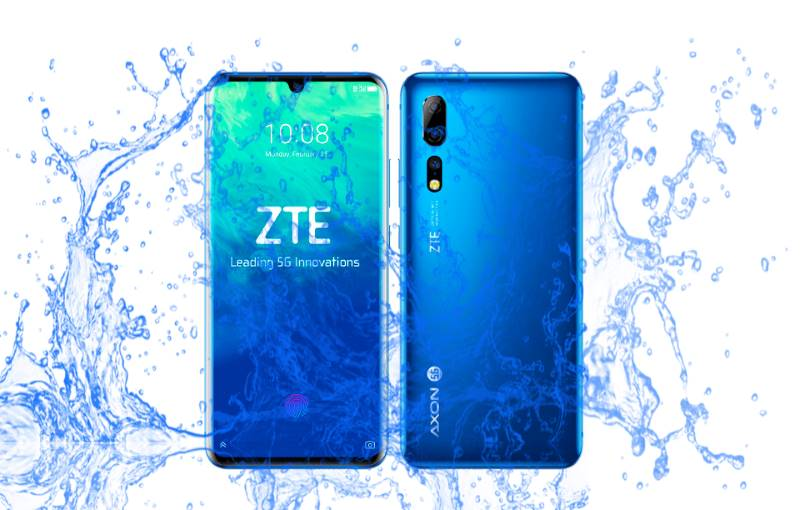Did ZTE launch Axon 10 Pro with IP68 dust and waterproof?