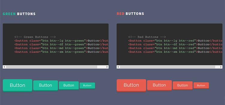 Pushy Buttons - Stláčateľné tlačidlá CSS v 3D