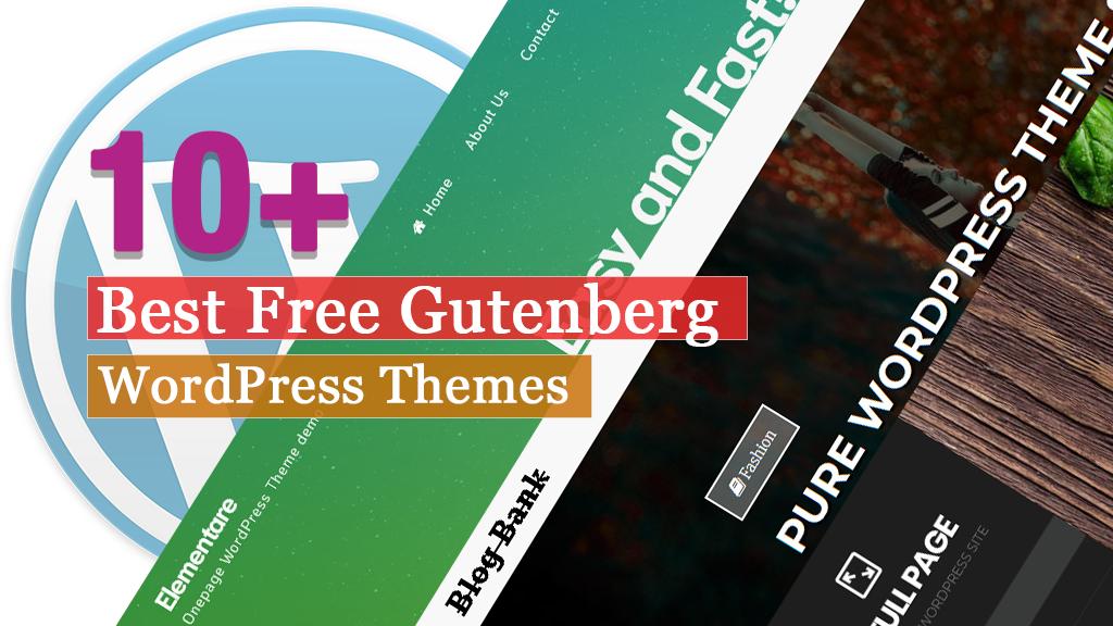 Los mejores temas gratuitos de Gutenberg WordPress