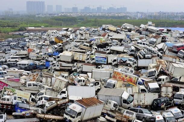 contaminación del depósito de chatarra de china 4