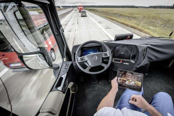 Daimler Future Trucks Autonomous Trucks todo listo para 2025 5