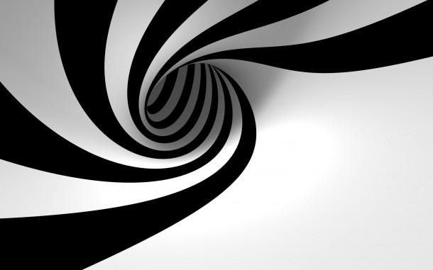 papel pintado blanco y negro 7