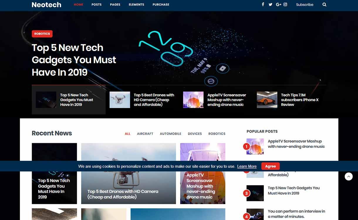 neotech-best-premium-elementor-wordpress-theme