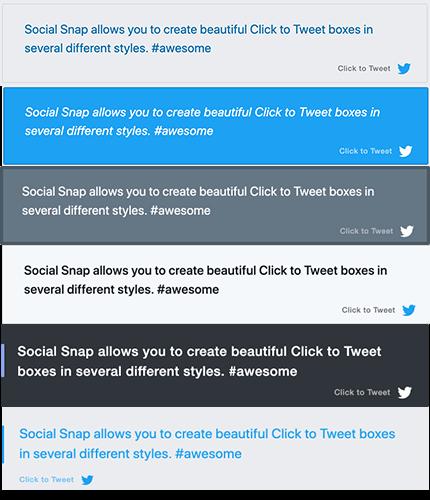 15 Haga clic para tuitear 6 pantallas diferentes copiar