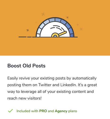22 Boost Old Posts agregar en