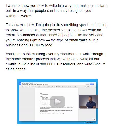 e-mailový marketing obsahu