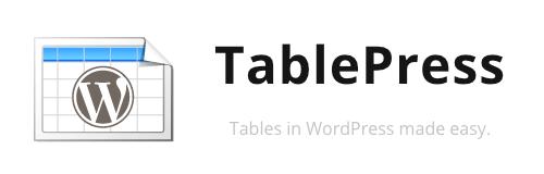 1 TablePress