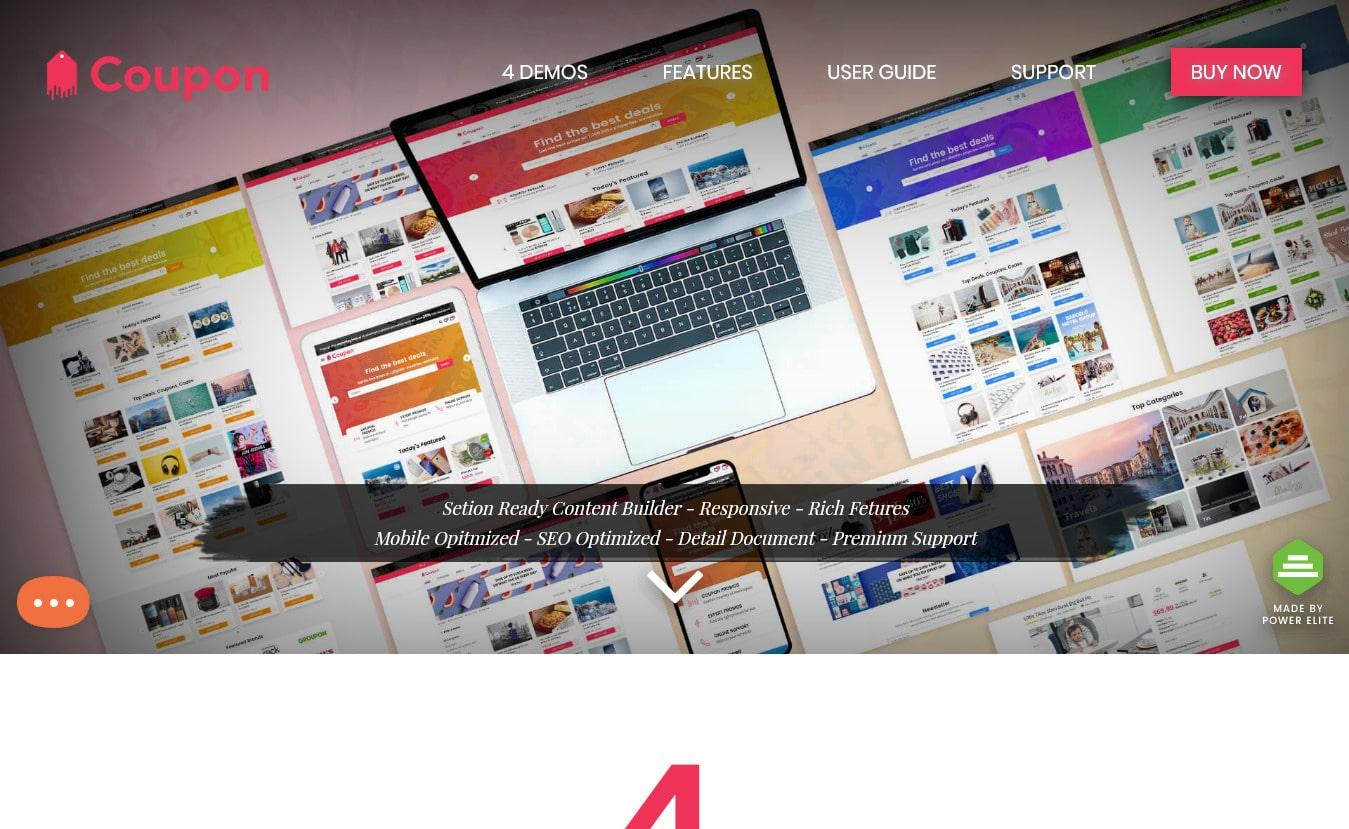 10 najlepších tém prémiového kupónu WordPress 9