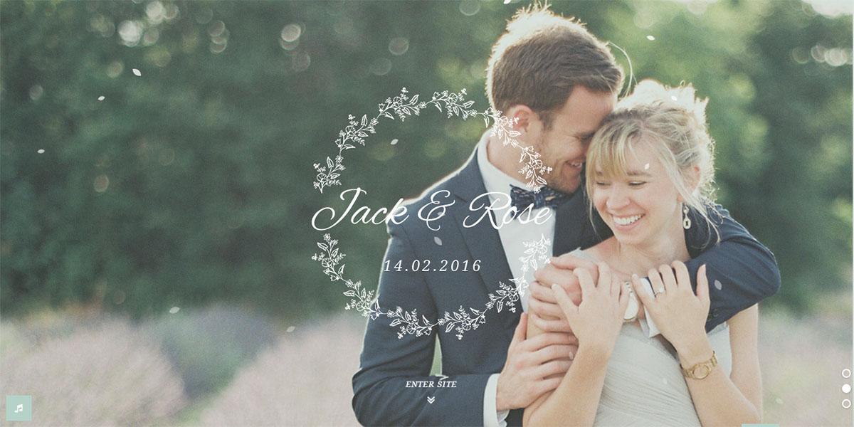 Tema de WordPress Jack and Rose