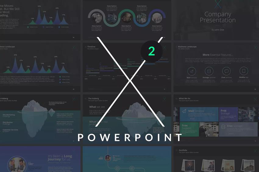 Šablóna powerpointovej šablóny zadarmo