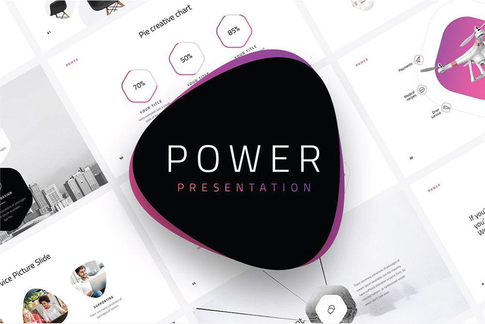 creativos de diseñadores de plantillas de powerpoint gratis