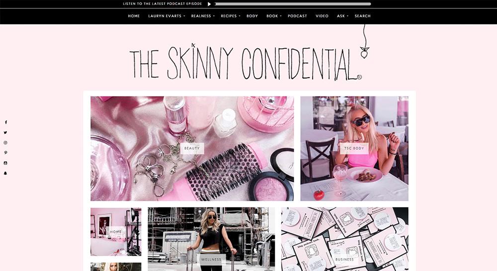 Blog de belleza confidencial flaca