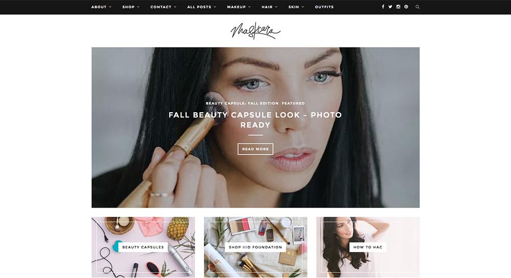 Blog de belleza de Maskcara