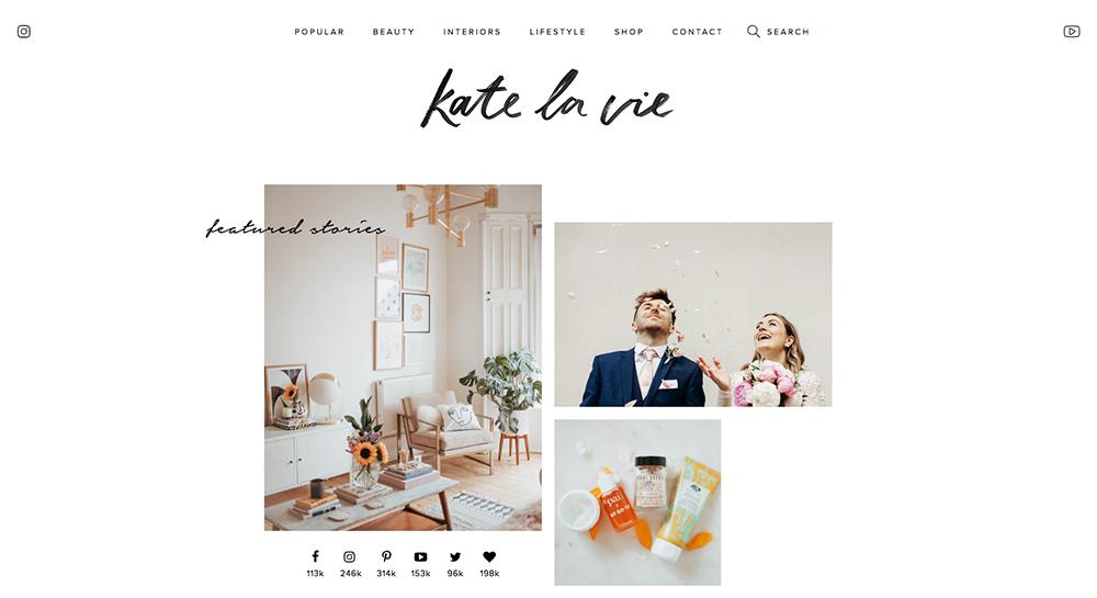 Blog de belleza Kate La Vie