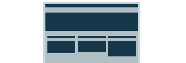 Spark ľahký webový mobilný dizajn reagujúci na prvý snímok