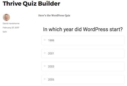 Pregunta de demostración de 2u en la página