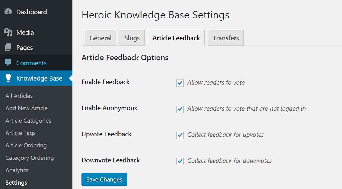 Povolenie komentárov používateľov k KnowAll.
