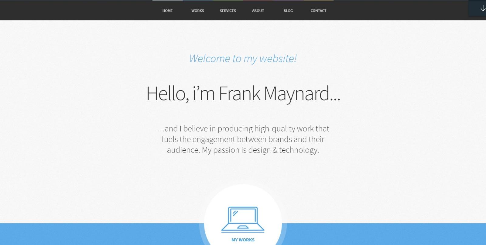 ThemeFuse Freelancer Theme