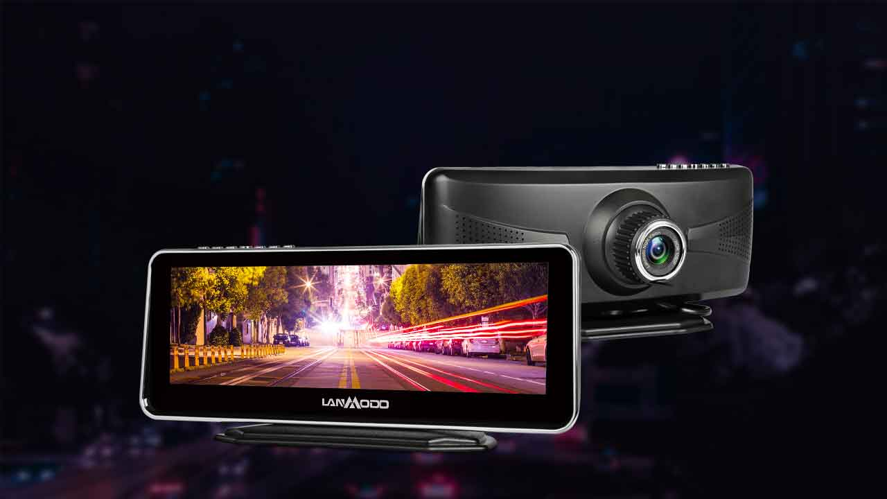Drive safely with Lanmodo Night Vision camera